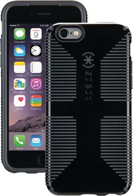 Speck iPhone 6/6s 4.7 inch Candyshell Grip Case Black/Slate Gray - Speck Electronic Cases