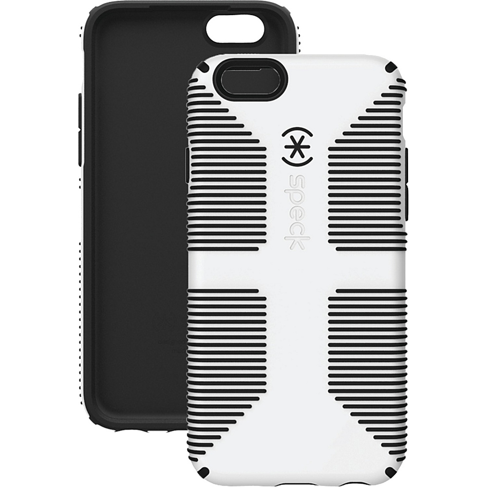 Speck iPhone 6 6s 4.7 Candyshell Grip Case White Black Speck Electronic Cases