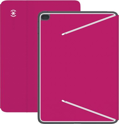 Speck- Do not use iPad Air 2 Durafolio Fuchsia Pink/White/Slate Gray - Speck- Do not use Electronic Cases