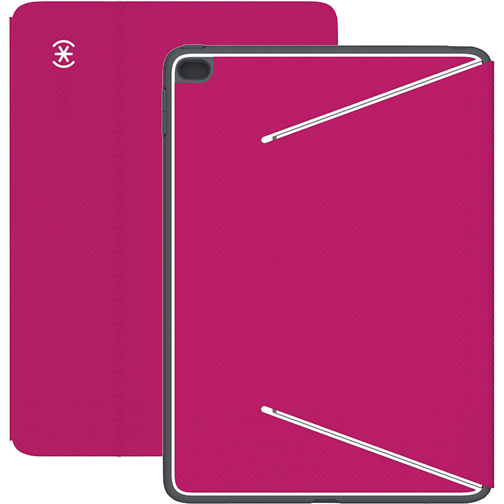 Speck iPad Air 2 Durafolio Fuchsia Pink White Slate Gray Speck Electronic Cases