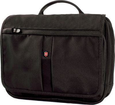 Victorinox Adventure Traveler with RFID Protection Black - Victorinox Laptop Messenger Bags