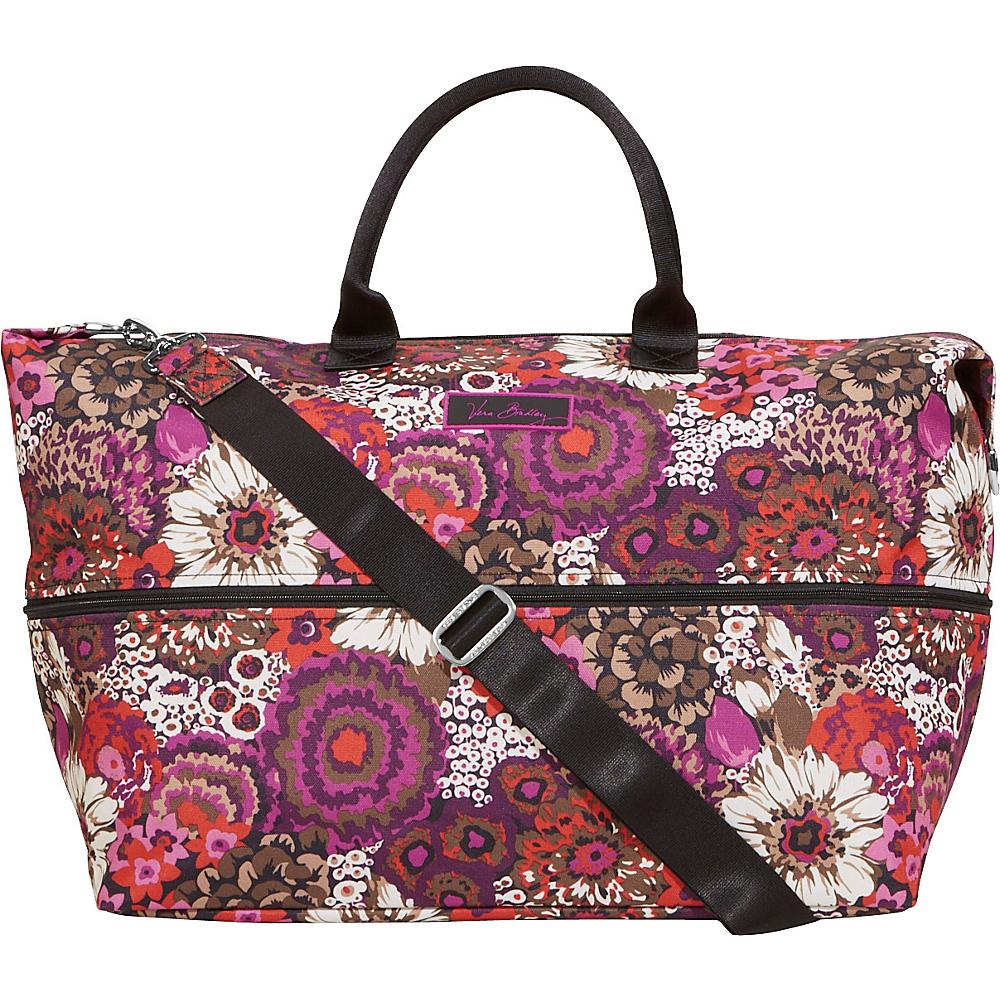 Vera Bradley Lighten Up Expandable Travel Bag Rosewood - Vera Bradley Small Rolling Luggage