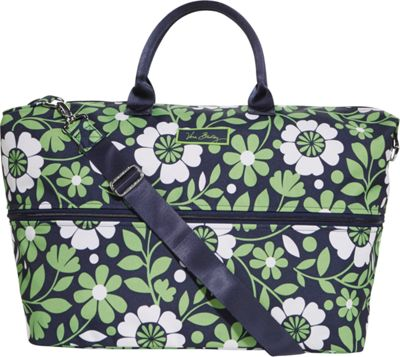 Vera Bradley Lighten Up Expandable Travel Bag Lucky You - Vera Bradley Small Rolling Luggage