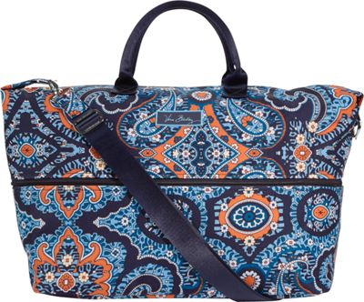 Vera Bradley Lighten Up Expandable Travel Bag Marrakesh - Vera Bradley Small Rolling Luggage