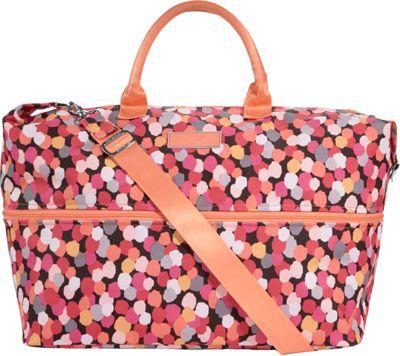 Vera Bradley Lighten Up Expandable Travel Bag Pixie Confetti - Vera Bradley Small Rolling Luggage