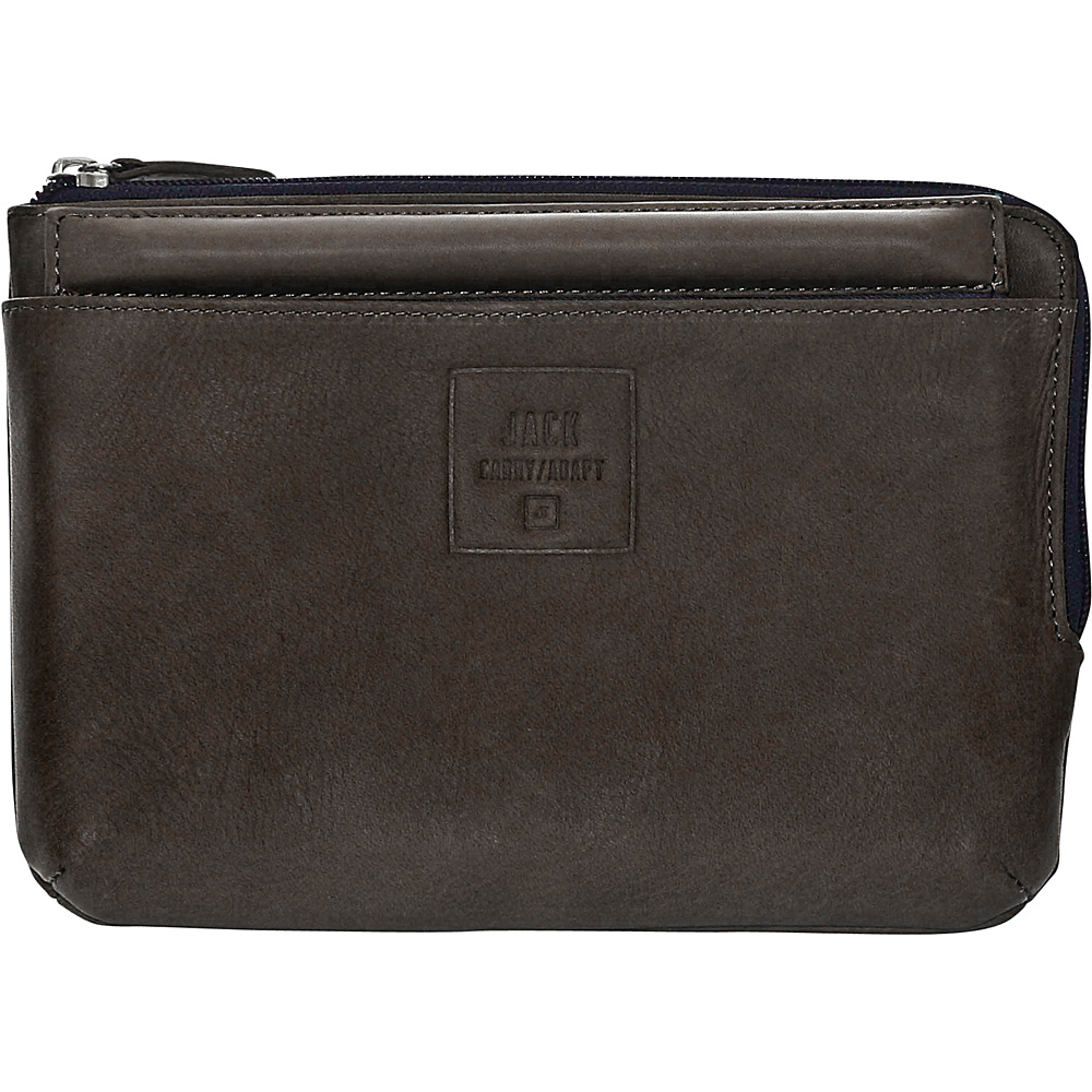 Jill e Designs Jack Beck 7 Leather Tablet Sleeve with Stand Brown Jill e Designs Electronic Cases