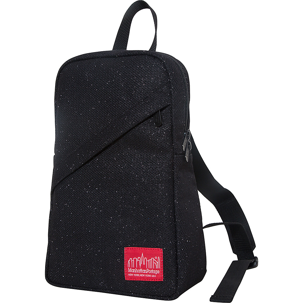 Manhattan Portage Midnight Ellis Backpack with Zipper Black - Manhattan Portage Fabric Handbags - Handbags, Fabric Handbags