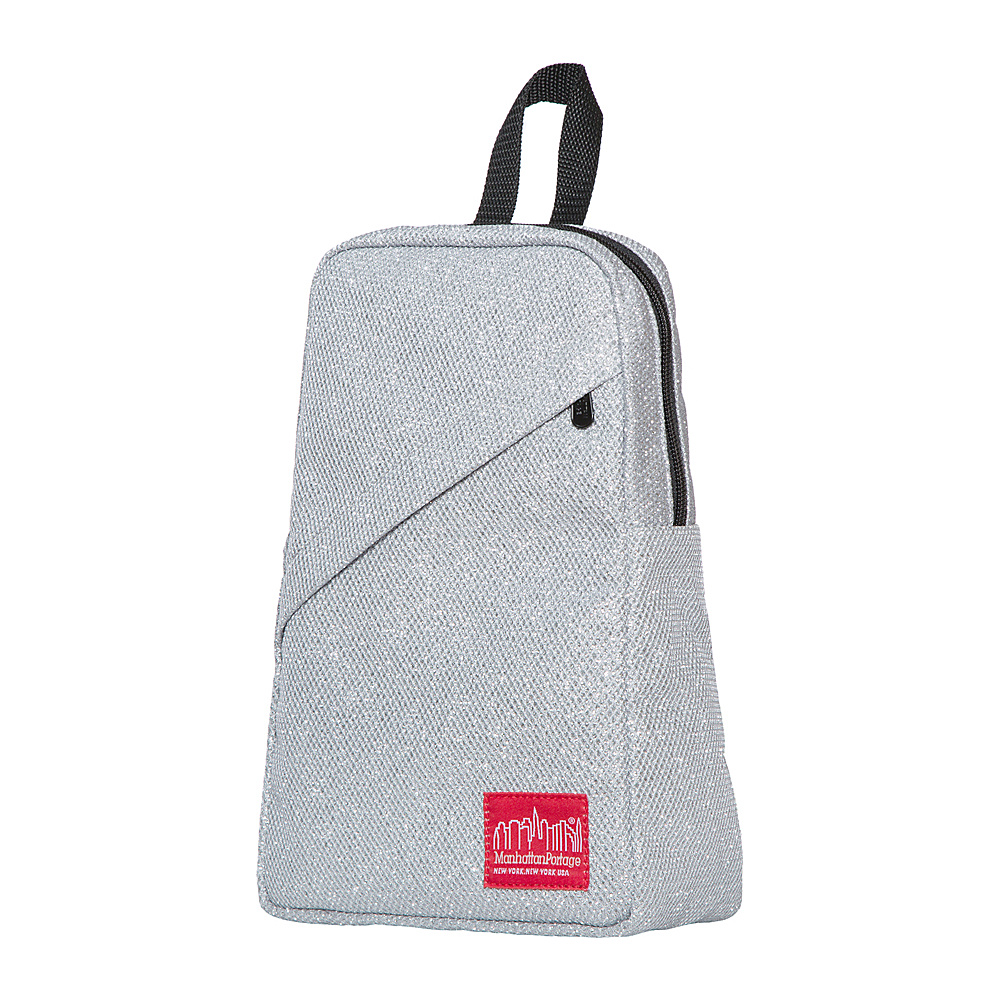Manhattan Portage Midnight Ellis Backpack with Zipper Gray - Manhattan Portage Fabric Handbags - Handbags, Fabric Handbags