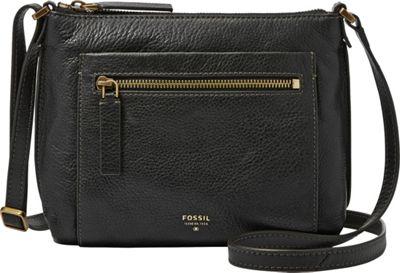 Fossil Vickery Crossbody Black - Fossil Leather Handbags