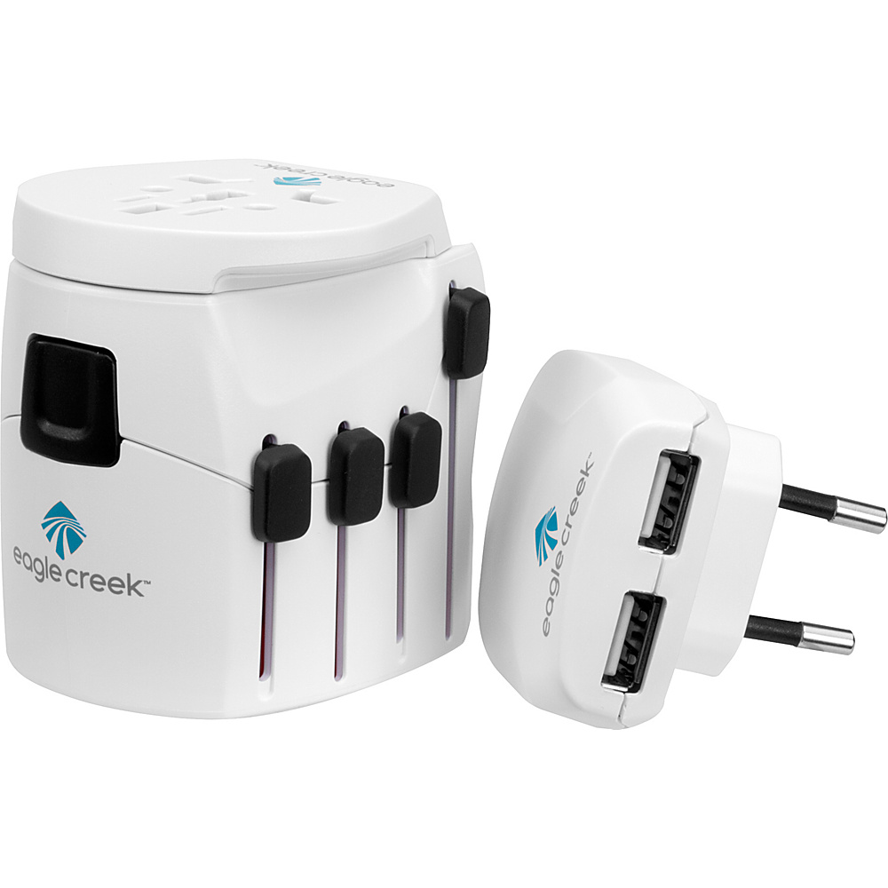 Eagle Creek USB Universal Travel Adapter Pro White - Eagle Creek Electronic Accessories - Technology, Electronic Accessories