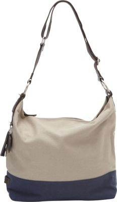 Ellington Handbags Sadie Canvas Hobo Tan - Ellington Handbags Fabric Handbags