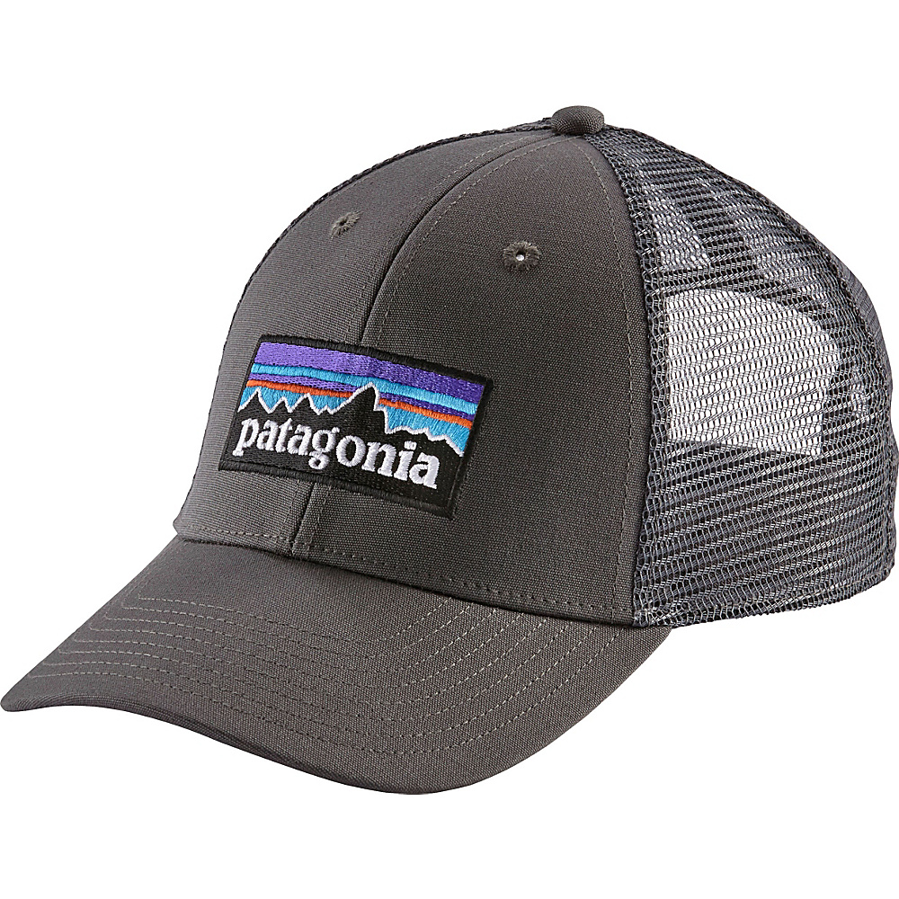 Patagonia P6 LoPro Trucker Hat One Size - Forge Grey w/Forge Grey - Patagonia Hats/Gloves/Scarves - Fashion Accessories, Hats/Gloves/Scarves