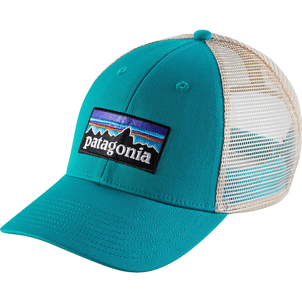 Patagonia P6 LoPro Trucker Hat One Size - True Teal - Patagonia Hats/Gloves/Scarves - Fashion Accessories, Hats/Gloves/Scarves