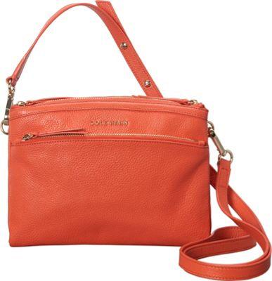 Cole Haan Isabella Crossbody Coral Flame - Cole Haan Designer Handbags