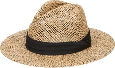 San Diego Hat Seagrass Panama Fedora With Cloth Band