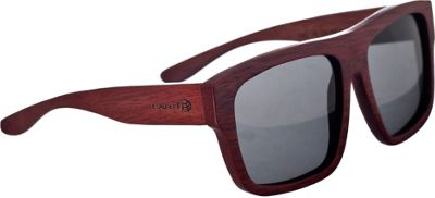 Earth Wood Hermosa Sunglasses Red Rosewood - Earth Wood Sunglasses