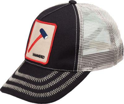 Peter Grimm Hammered Trucker Hat One Size - Black - Peter Grimm Hats/Gloves/Scarves
