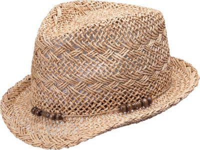 Peter Grimm Skye Fedora One Size - Natural - Peter Grimm Hats/Gloves/Scarves