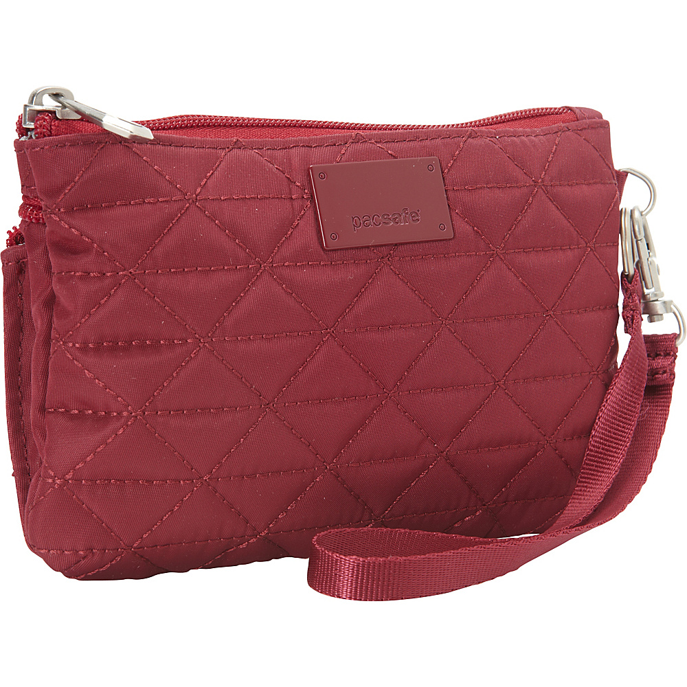 Pacsafe RFIDsafe W75 Cranberry Pacsafe Women s Wallets