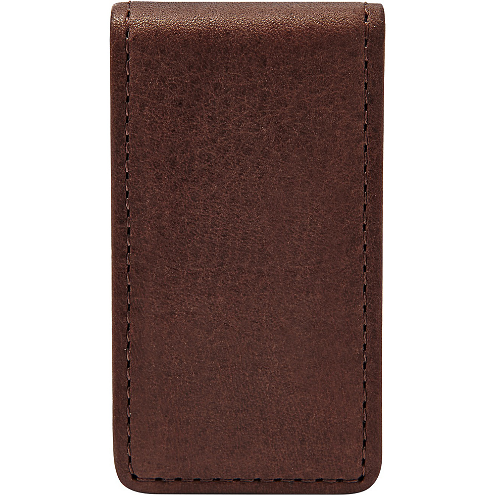 Fossil Ingram Money Clip Brown - Fossil Mens Wallets - Work Bags & Briefcases, Men's Wallets