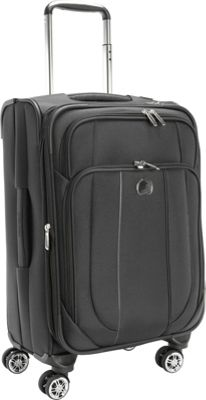 Delsey Helium Cruise Exp. Trolley Black - Delsey Softside Carry-On