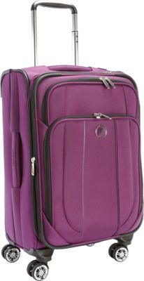Delsey Helium Cruise Exp. Trolley Purple - Delsey Softside Carry-On