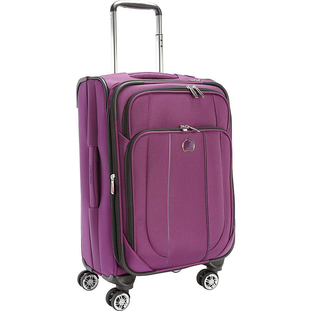 Delsey Helium Cruise Exp. Trolley Purple Delsey Softside Carry On