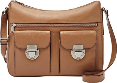 Fossil Riley Hobo Camel - Fossil Leather Handbags