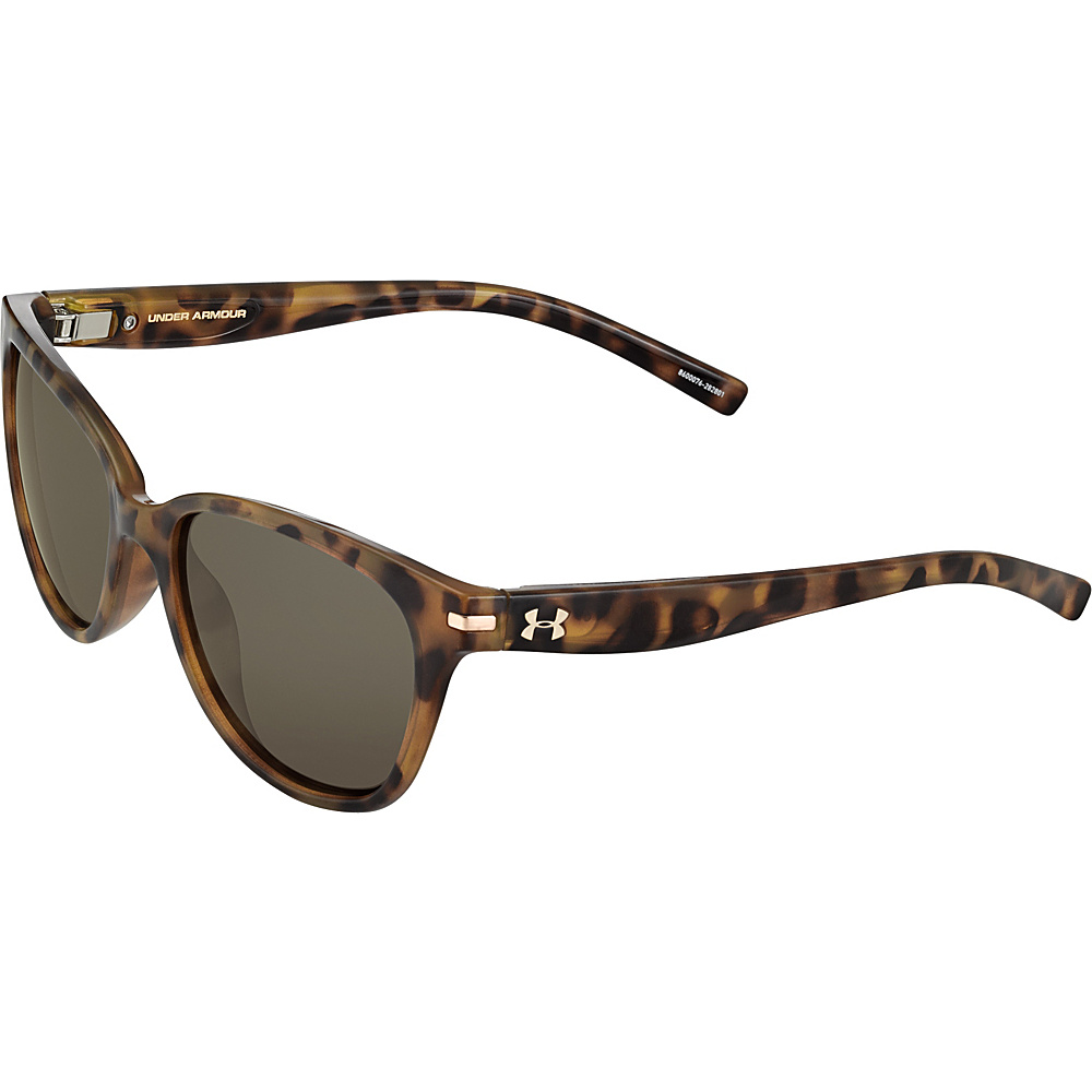 Under Armour Eyewear Perfect Sunglasses Shiny Tortoise Brown Gradient Under Armour Eyewear Sunglasses