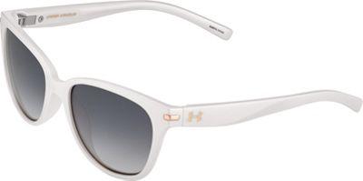 Under Armour Eyewear Perfect Sunglasses Satin Pearl/Gray Gradient - Under Armour Eyewear Sunglasses