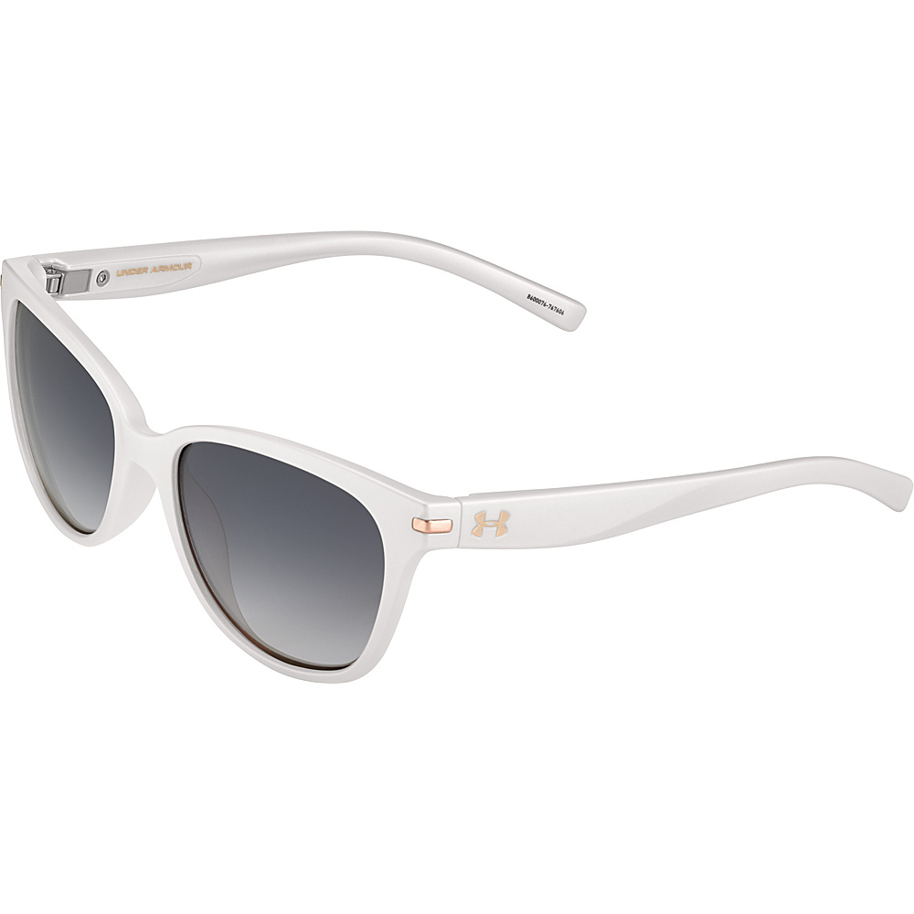 Under Armour Eyewear Perfect Sunglasses Satin Pearl Gray Gradient Under Armour Eyewear Sunglasses