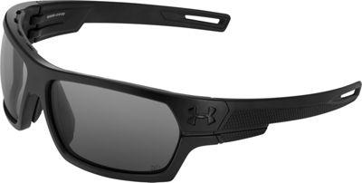 Under Armour Eyewear Battlewrap Sunglasses Satin Black Ballistic/Gray - Under Armour Eyewear Sunglasses