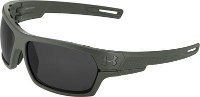 Under Armour Eyewear Battlewrap Sunglasses Satin Rifle Green Ballistic/Gray - Under Armour Eyewear Sunglasses