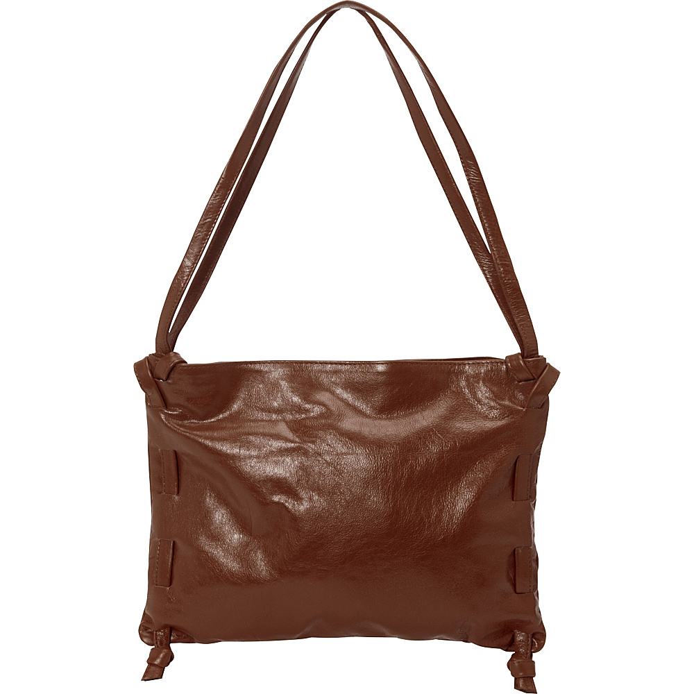 Latico Leathers Darby Shoulder Bag Cognac - Latico Leathers Leather Handbags - Handbags, Leather Handbags