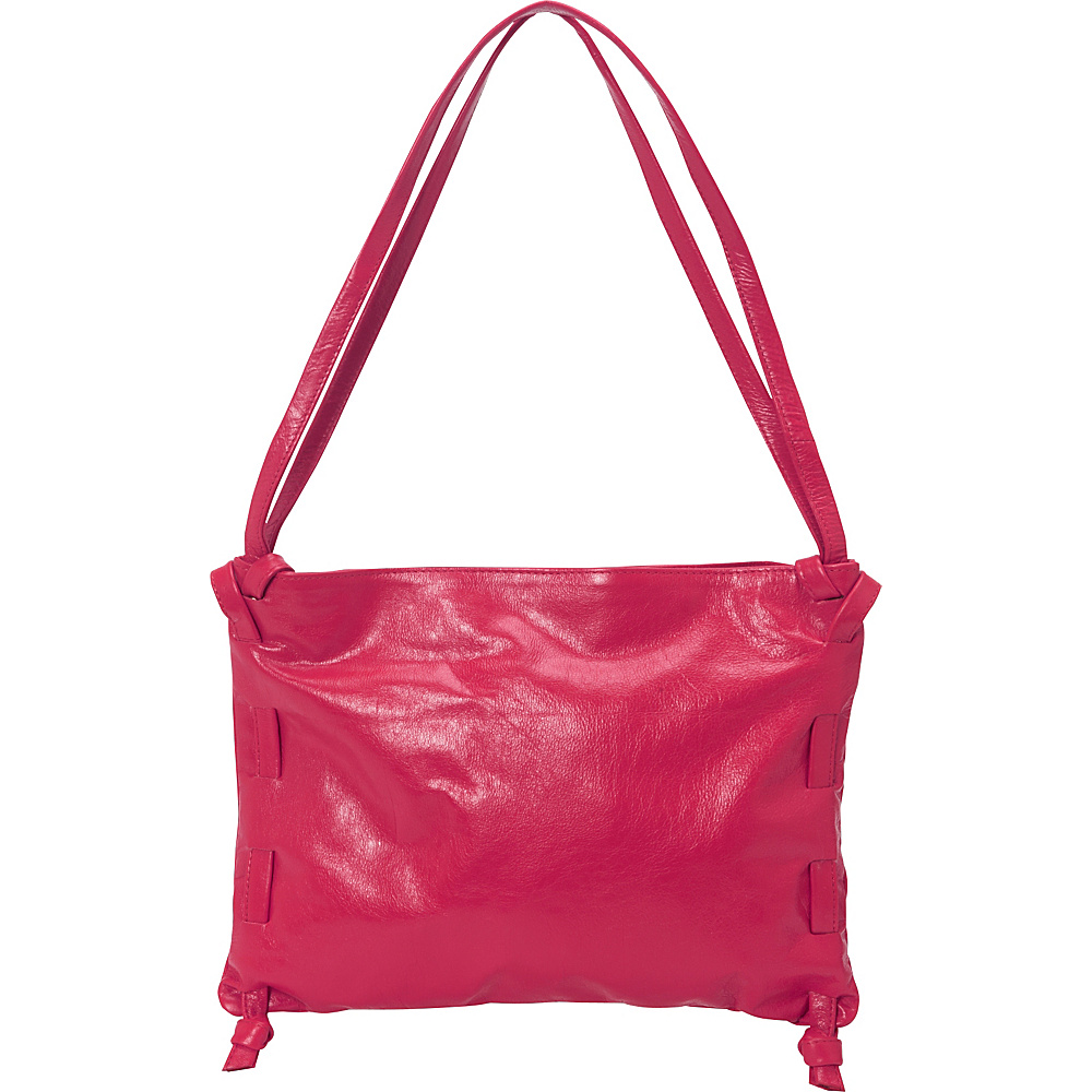 Latico Leathers Darby Shoulder Bag Fuchsia - Latico Leathers Leather Handbags - Handbags, Leather Handbags