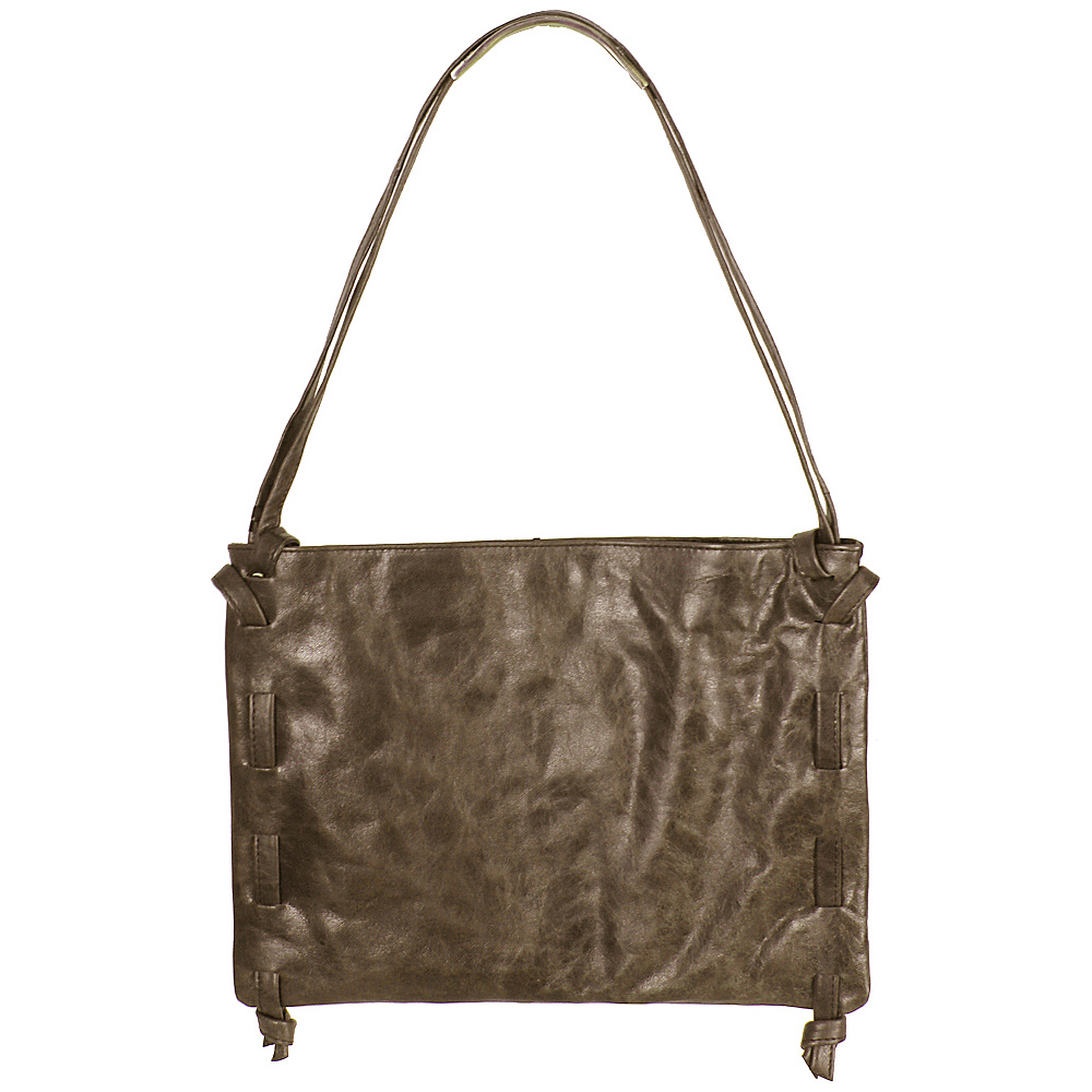 Latico Leathers Darby Shoulder Bag Crunch Olive - Latico Leathers Leather Handbags - Handbags, Leather Handbags