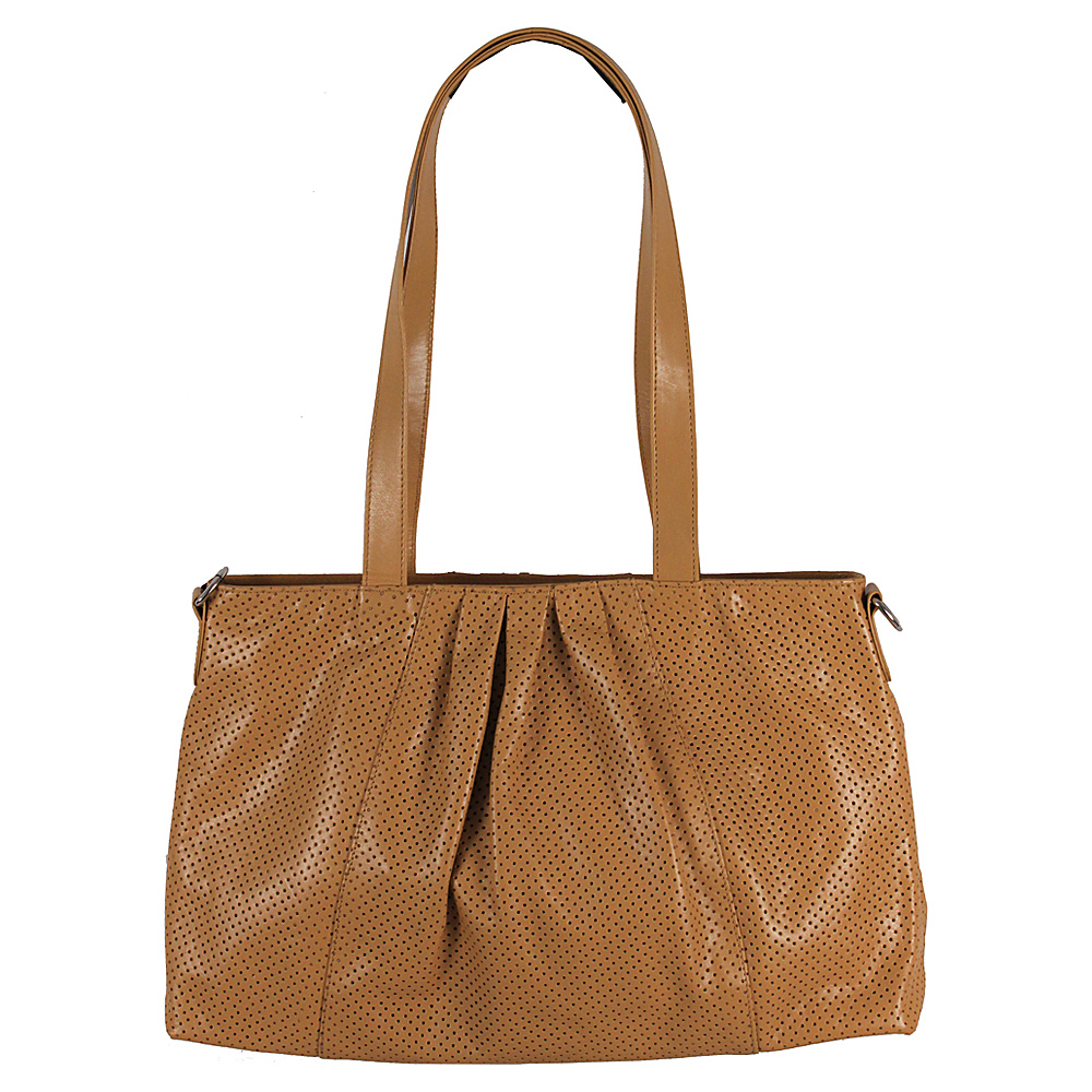 Latico Leathers Regan Shoulder Bag Tan - Latico Leathers Leather Handbags - Handbags, Leather Handbags