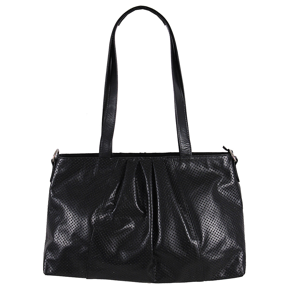 Latico Leathers Regan Shoulder Bag Black - Latico Leathers Leather Handbags - Handbags, Leather Handbags