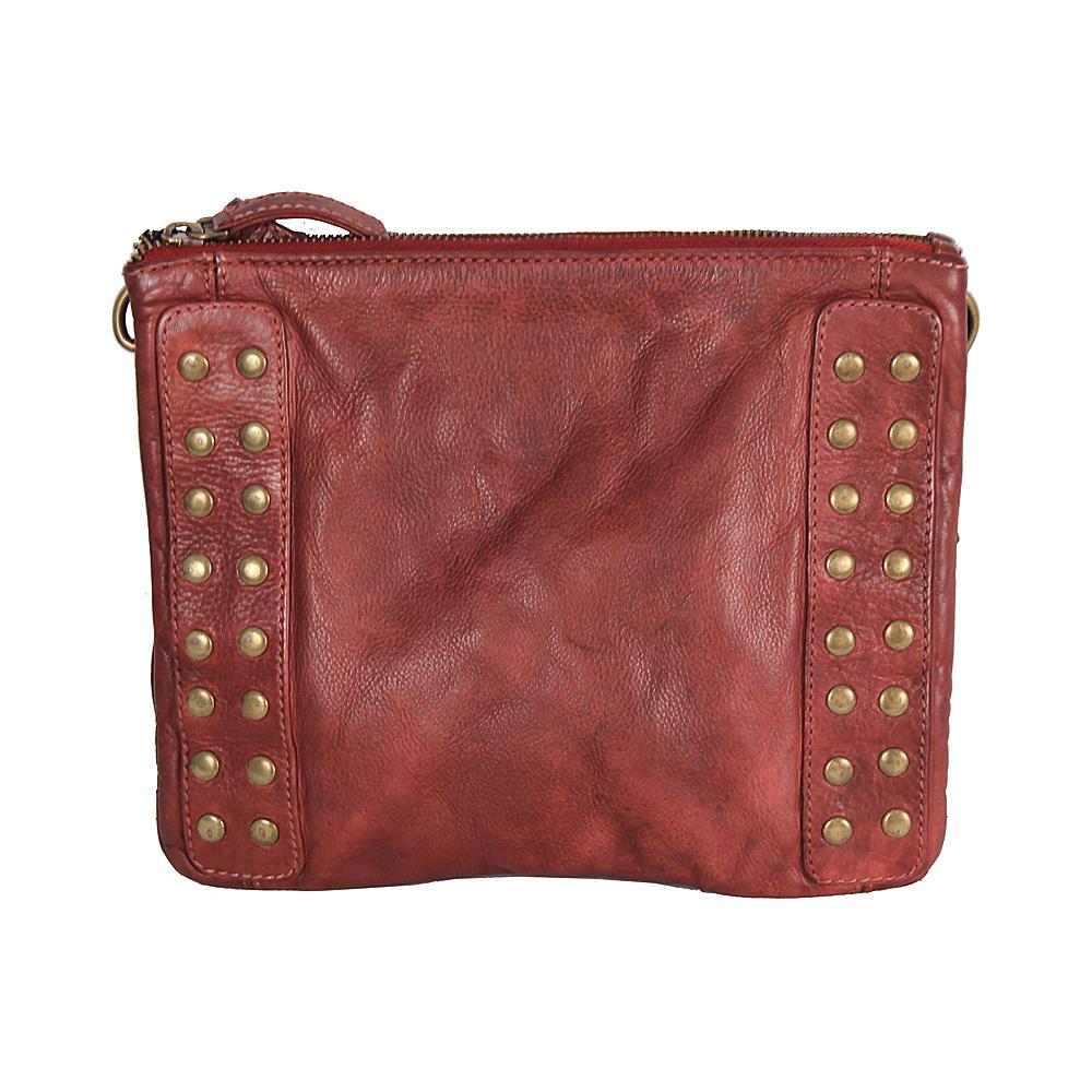 Latico Leathers Bleecker Crossbody Crinkle Burgundy - Latico Leathers Leather Handbags - Handbags, Leather Handbags