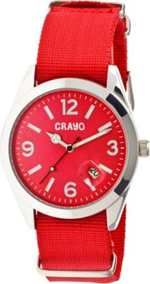 Crayo Sunrise Watch Red - Crayo Watches
