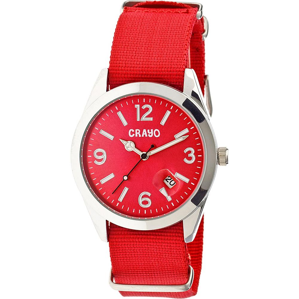 Crayo Sunrise Watch Red Crayo Watches