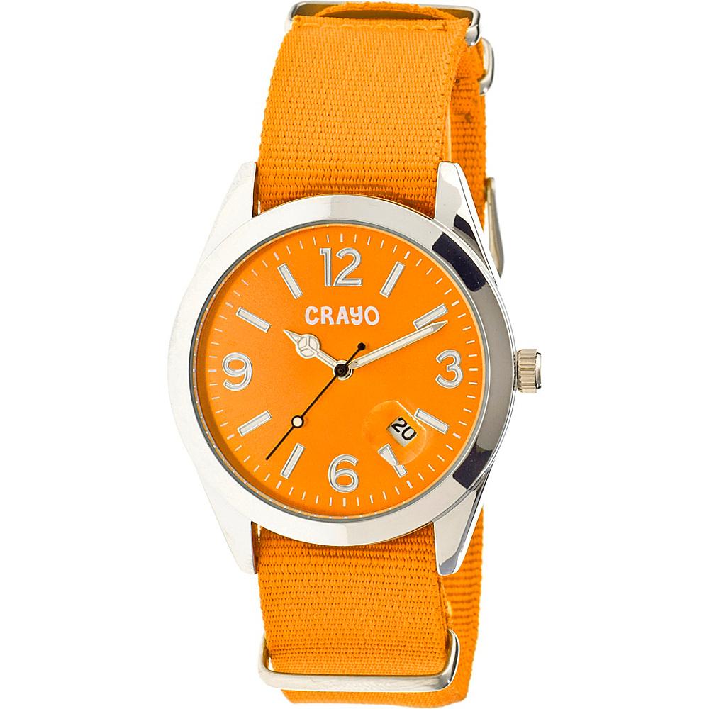 Crayo Sunrise Watch Orange Crayo Watches