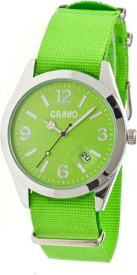 Crayo Sunrise Watch Green - Crayo Watches
