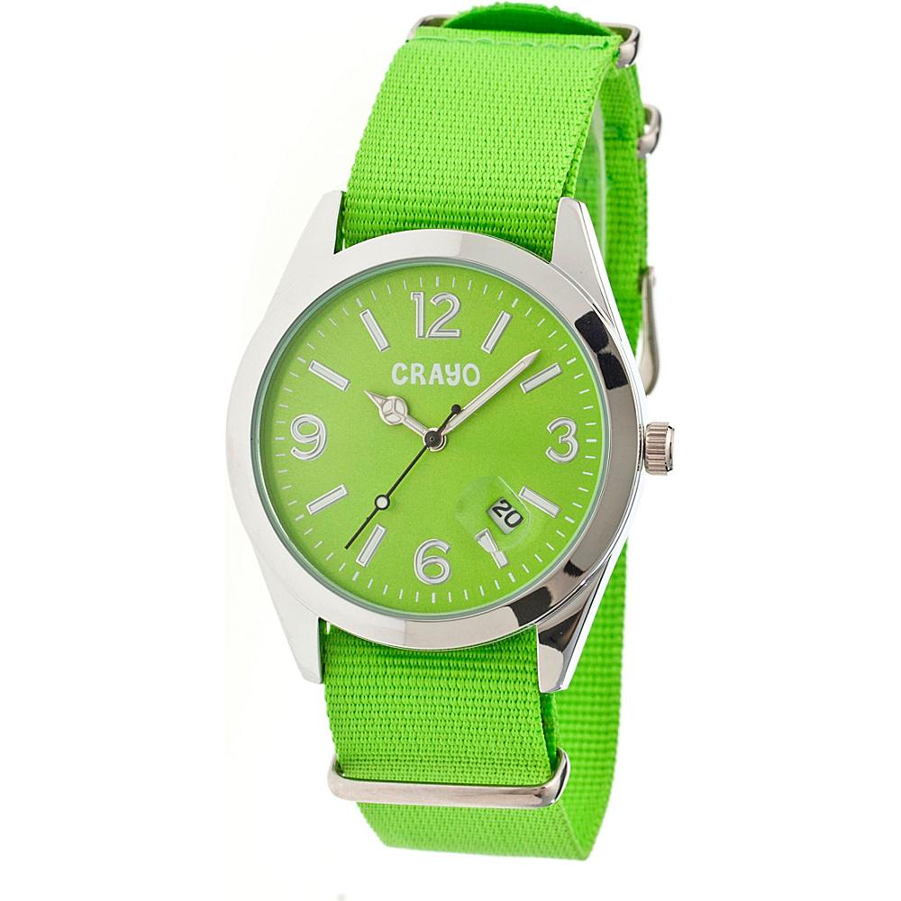 Crayo Sunrise Watch Green Crayo Watches