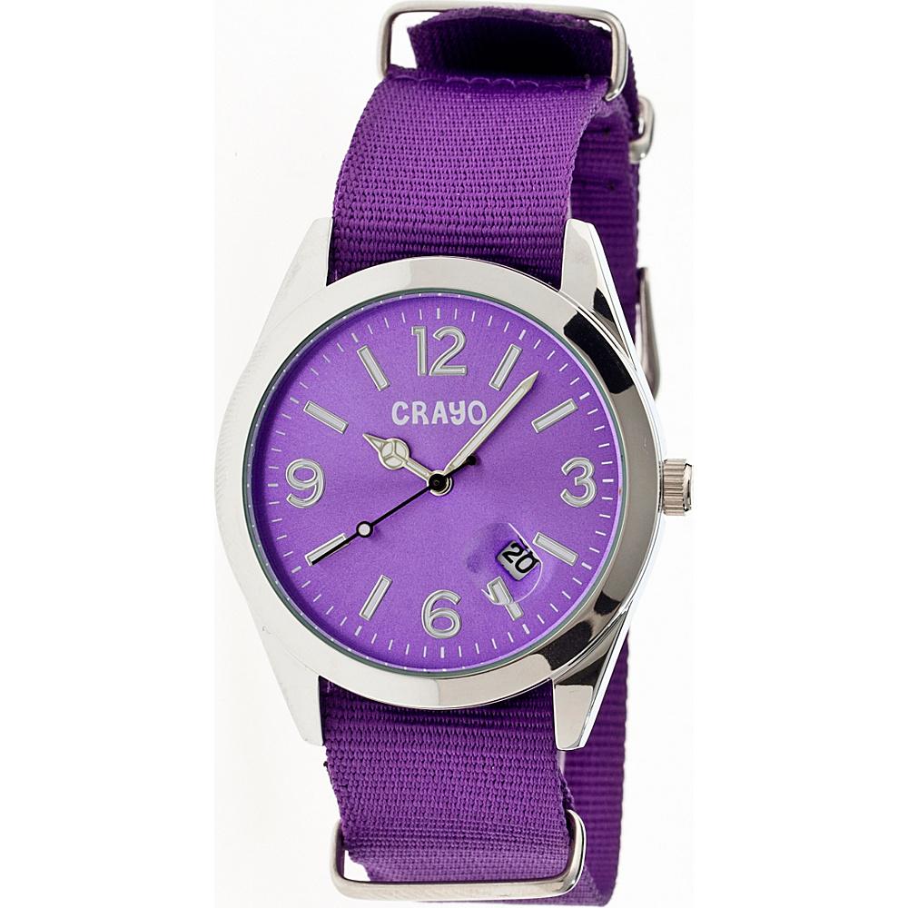 Crayo Sunrise Watch Purple Crayo Watches
