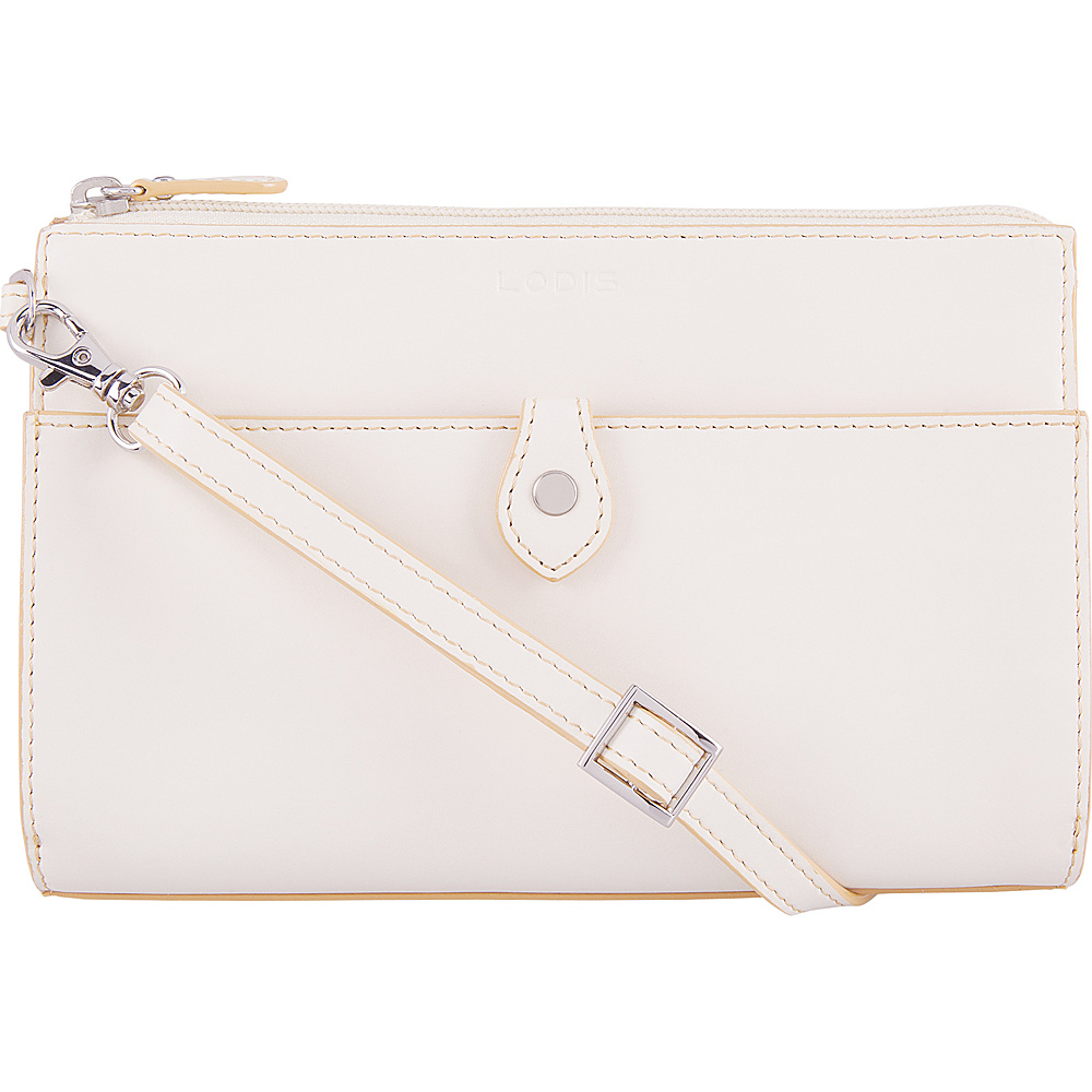 Lodis Audrey Vicky RFID Convertible Crossbody Cream/Natural - Lodis Leather Handbags - Handbags, Leather Handbags