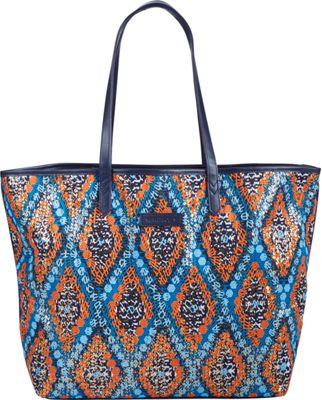 Vera Bradley Summer Sparkle Tote Marrakesh Beads - Vera Bradley Fabric Handbags