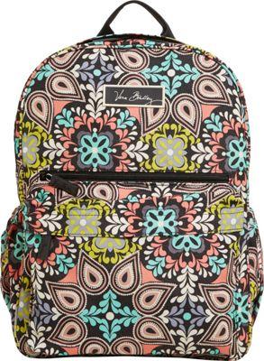 Vera Bradley Lighten Up Just Right Backpack Sierra - Vera Bradley School & Day Hiking Backpacks
