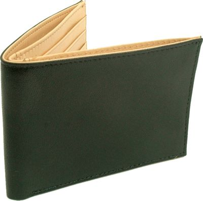 TUSK LTD Leonardo Slim Billfold Black/Tan - TUSK LTD Men's Wallets