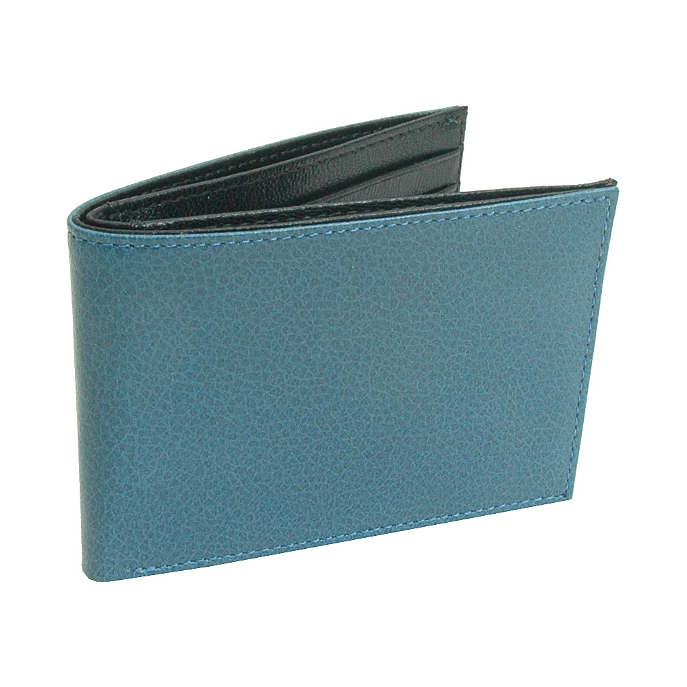 TUSK LTD Leonardo Slim Billfold Blue Black TUSK LTD Men s Wallets